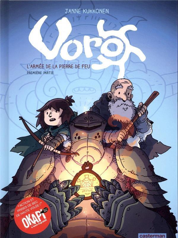 Couverture de Voro -4- L'armée de la pierre de feu - Première partie