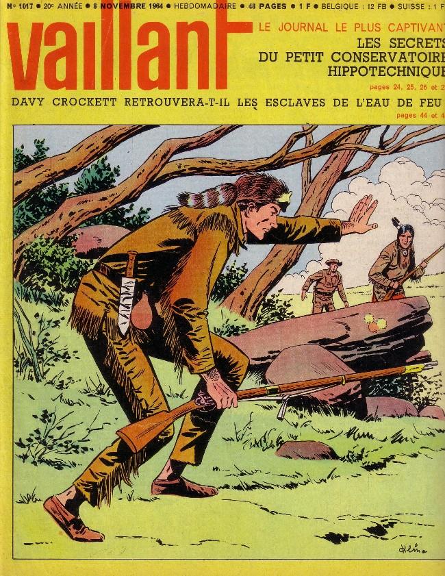 Couverture de Vaillant (le journal le plus captivant) -1017- Vaillant