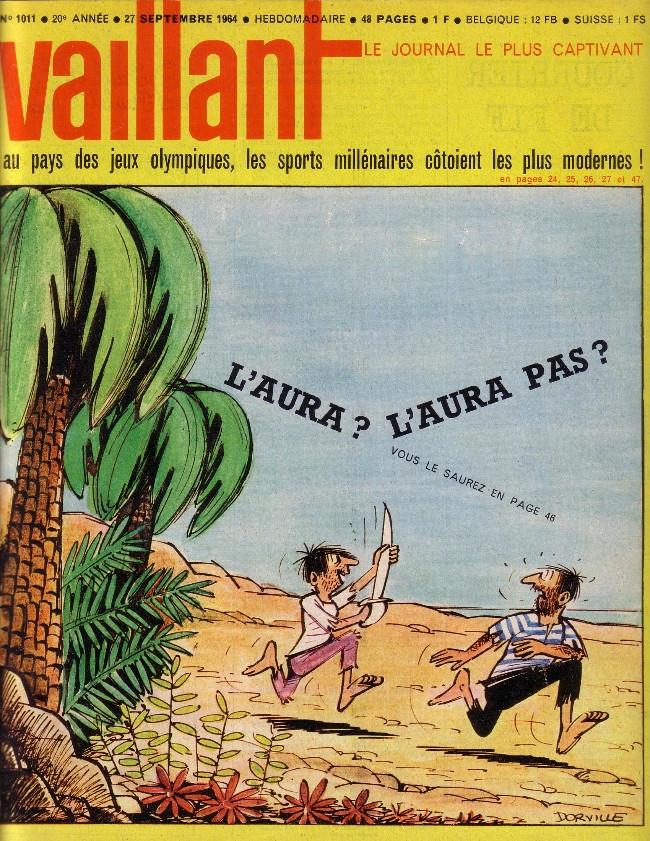 Couverture de Vaillant (le journal le plus captivant) -1011- Vaillant