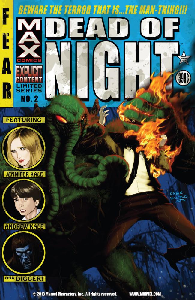 Couverture de Dead of Night Featuring Man-Thing (Marvel MAX -2008) -2- (sans titre)