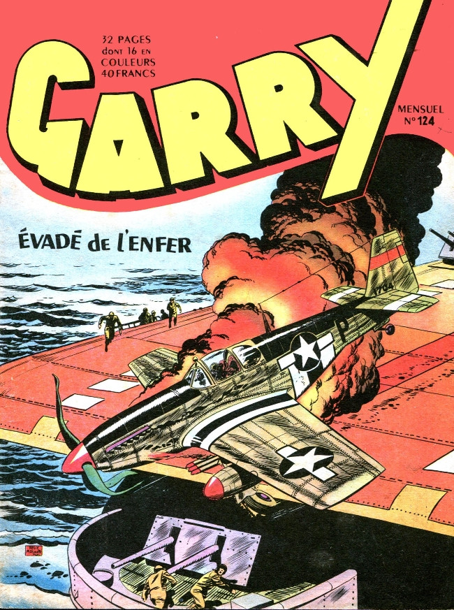 Couverture de Garry (sergent) (Imperia) (1re série grand format - 1 à 189) -124- Evadé de l'enfer