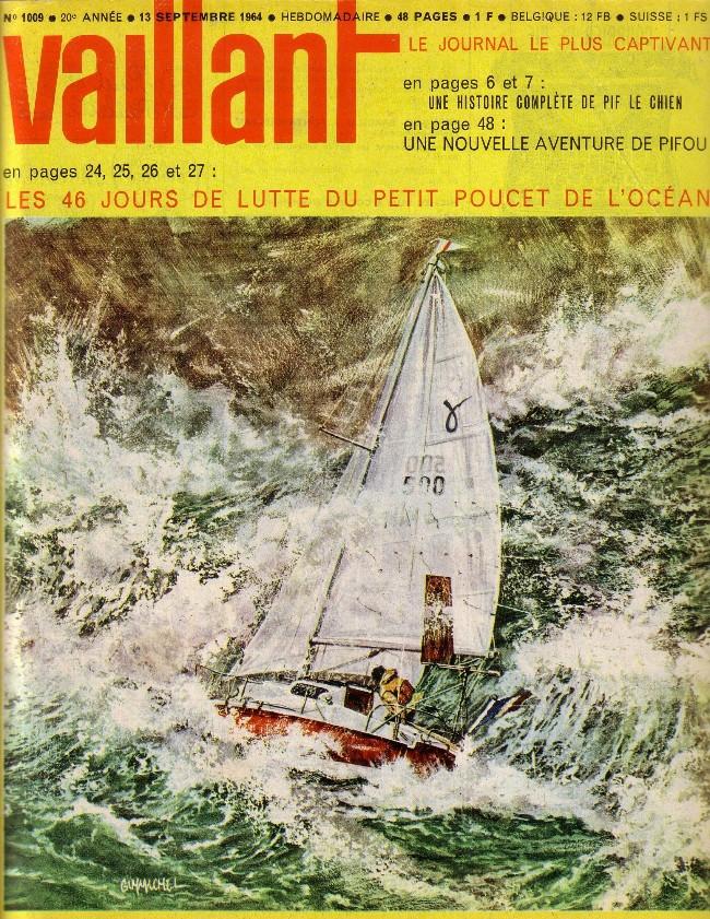 Couverture de Vaillant (le journal le plus captivant) -1009- Vaillant