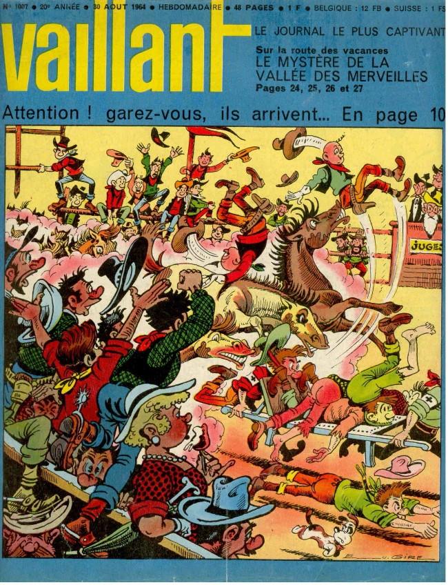 Couverture de Vaillant (le journal le plus captivant) -1007- Vaillant