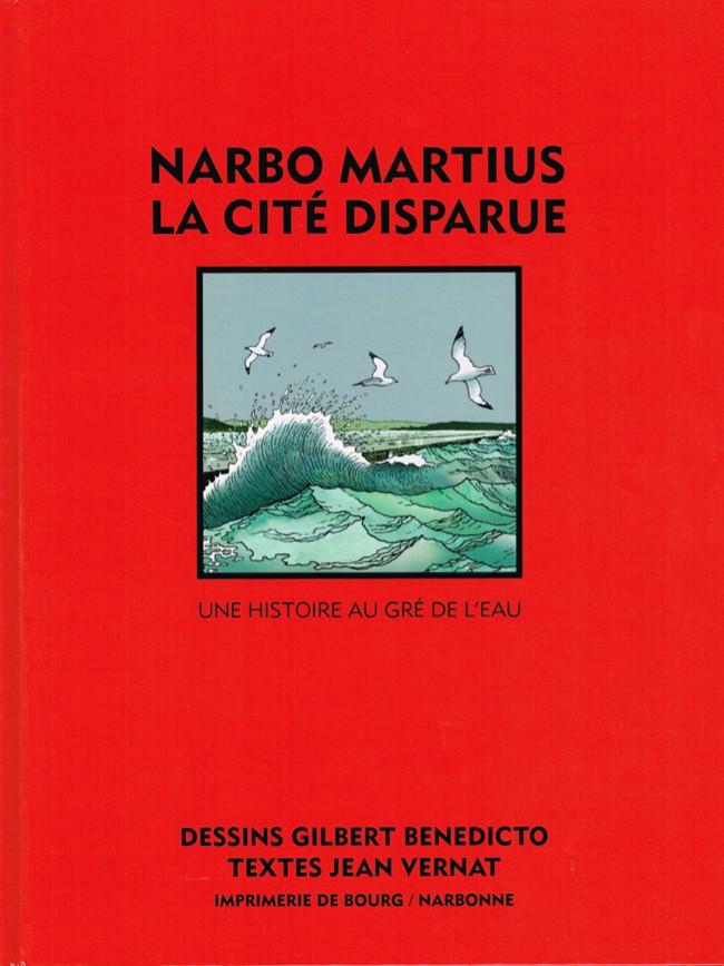 Couverture de Narbo Martius - Narbo Martius la cité disparue