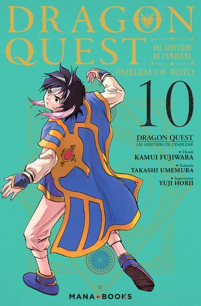 Couverture de Dragon Quest - Emblem of Roto - Les Héritiers de l'Emblème -10- Tome 10