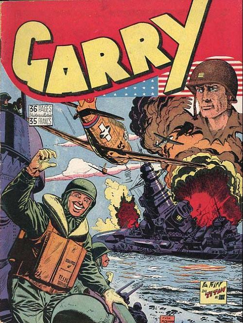 Couverture de Garry (sergent) (Imperia) (1re série grand format - 1 à 189) -59- La fin du titan
