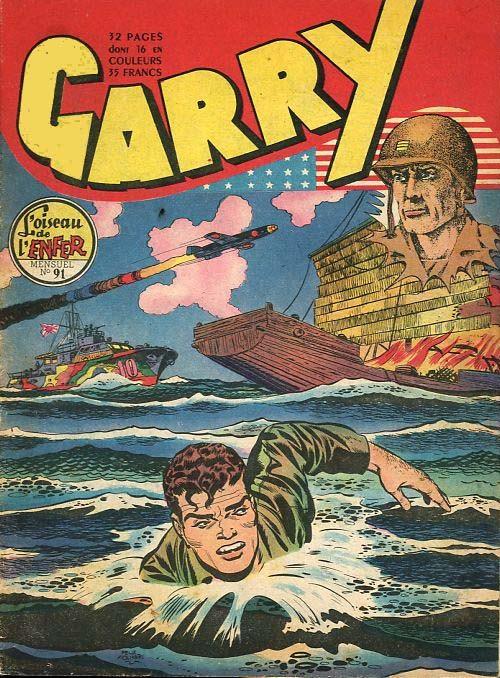 Couverture de Garry (sergent) (Imperia) (1re série grand format - 1 à 189) -91- L'oiseau de l'enfer