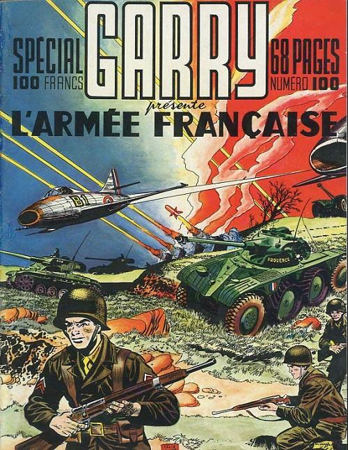 Couverture de Garry (sergent) (Imperia) (1re série grand format - 1 à 189) -100SP- Garry présente l'armée française
