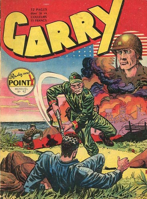 Couverture de Garry (sergent) (Imperia) (1re série grand format - 1 à 189) -92- Rendez-vous point x
