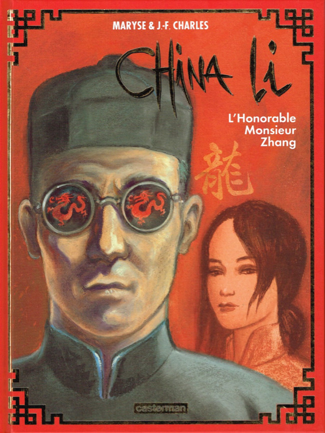 Couverture de China Li -2- L'Honorable Monsieur Zhang