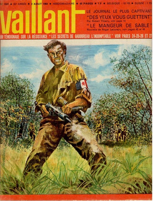Couverture de Vaillant (le journal le plus captivant) -1003- Vaillant