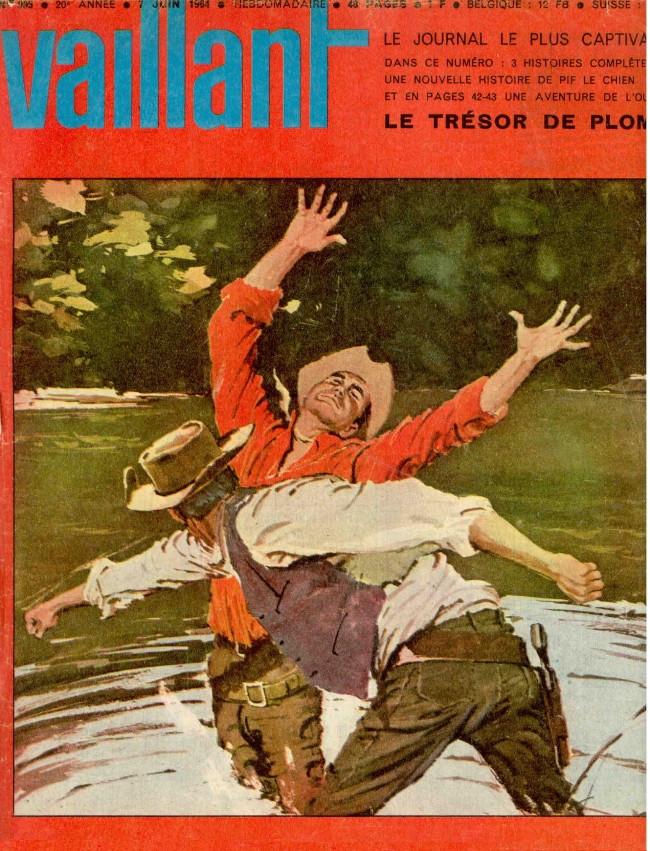 Couverture de Vaillant (le journal le plus captivant) -995- Vaillant