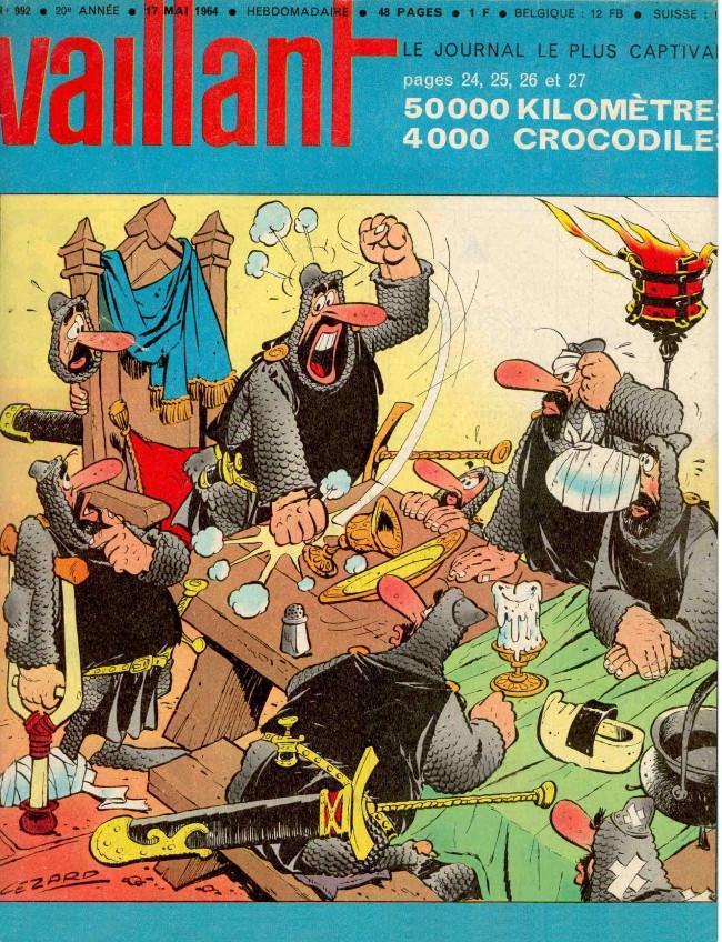 Couverture de Vaillant (le journal le plus captivant) -992- Vaillant