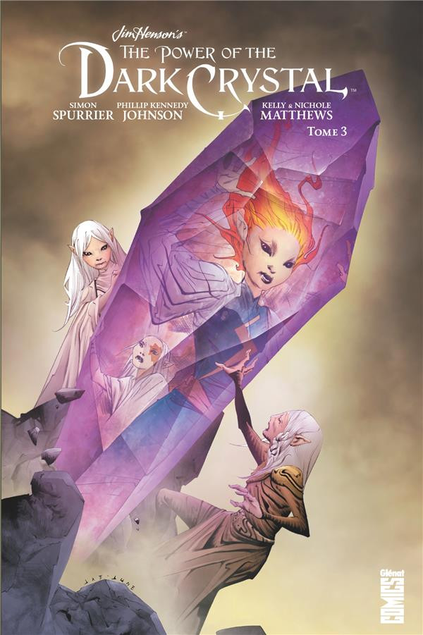Couverture de Dark Crystal (The Power of the) -3- Tome 3
