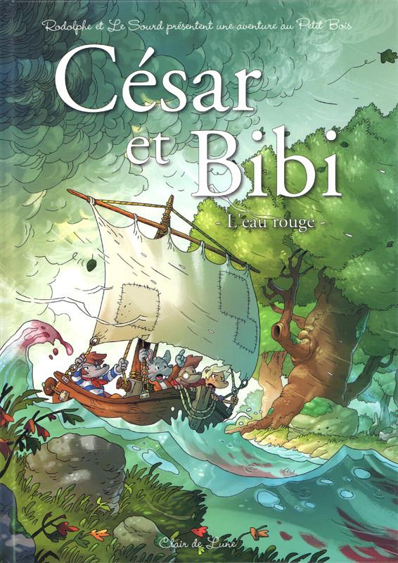 Couverture de César et Bibi - L'eau rouge