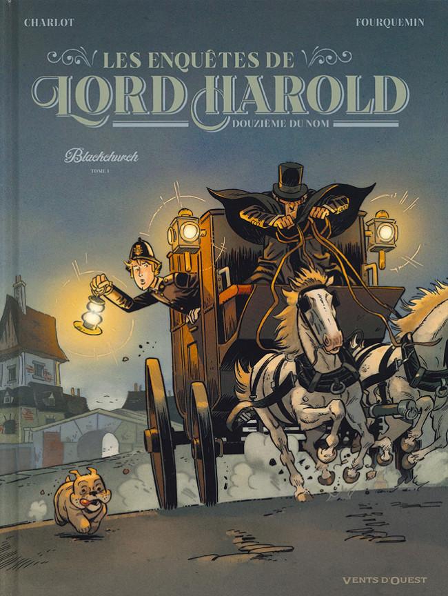 Couverture de Lord Harold, douzième du nom (Les Enquêtes de) -1- Blackchurch
