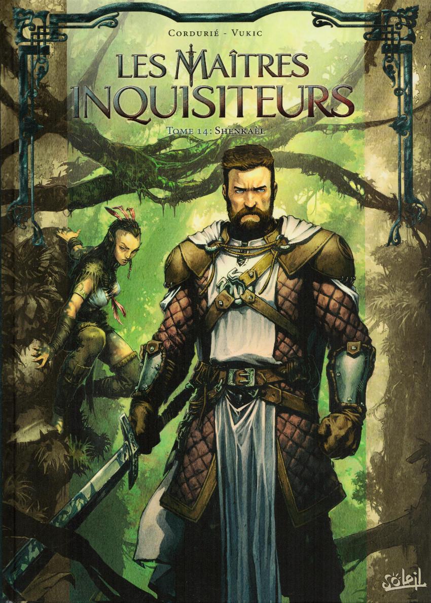 Couverture de Les maîtres Inquisiteurs -14- Shenkaèl