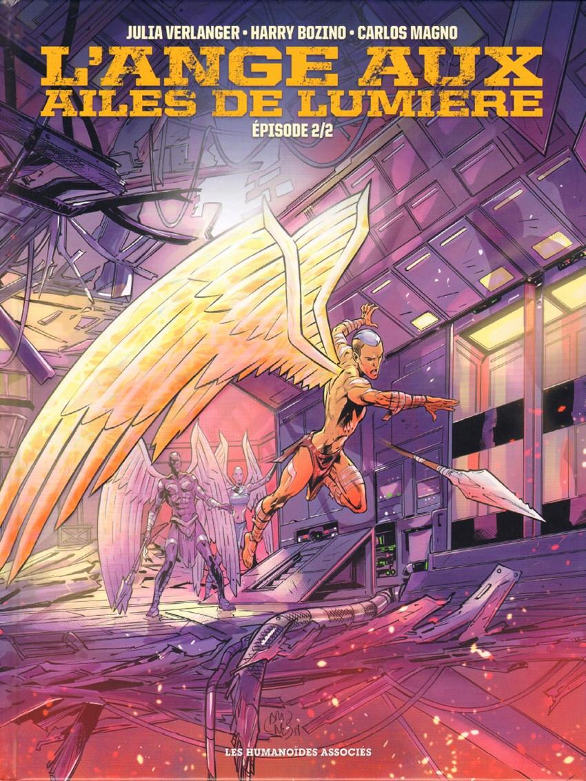 Couverture de L'ange aux ailes de lumière -2- Tome 2