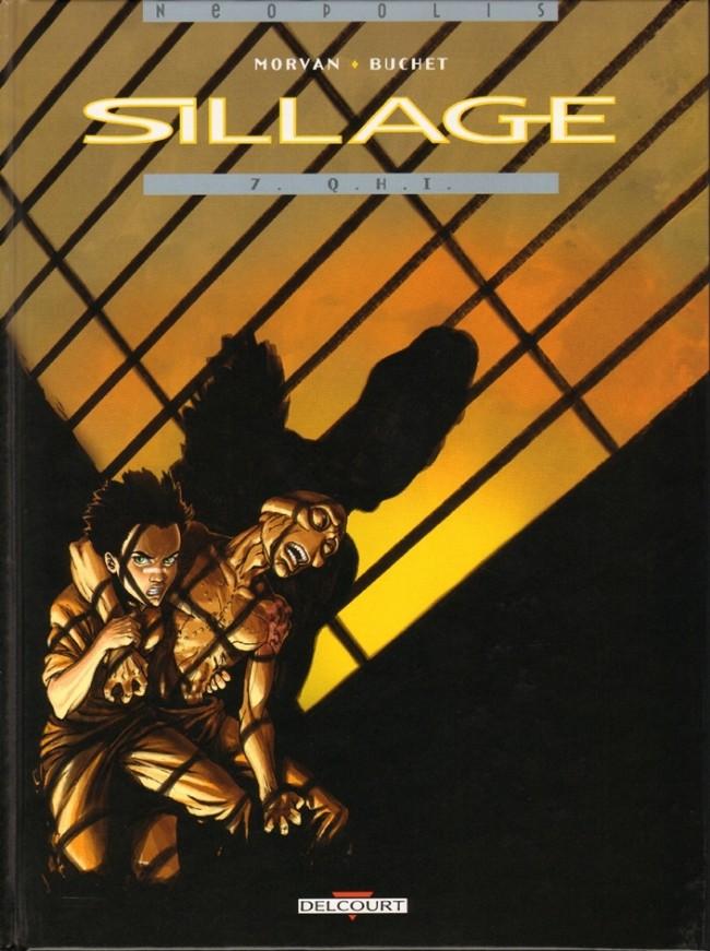 Couverture de Sillage -7- Q.H.I