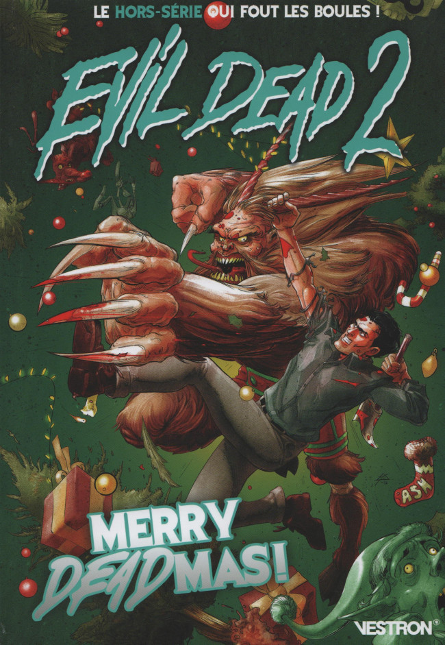 Couverture de Evil Dead 2 - La Série -HS- Merry Deadmas