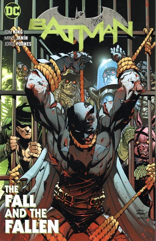 Couverture de Batman (DC Comics - 2016) -INT11- The fall and the fallen