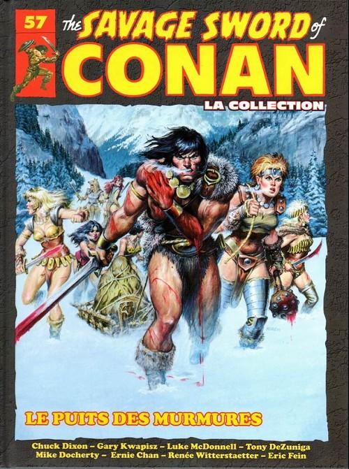Couverture de Savage Sword of Conan (The) - La Collection (Hachette) -57- Le puits des murmures