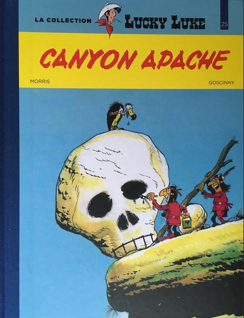 Couverture de Lucky Luke - La collection (Hachette 2018) -2537- Canyon apache