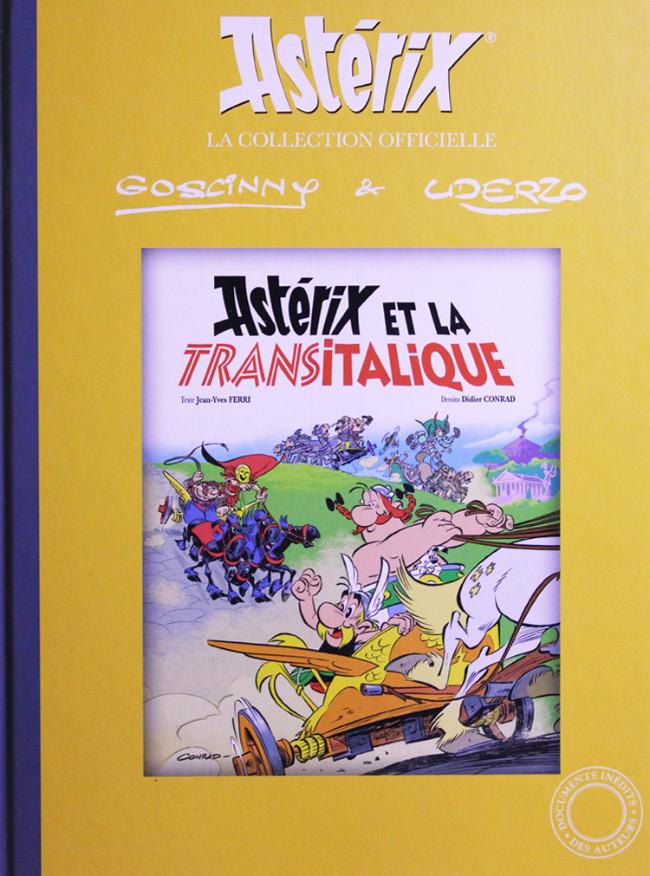 Couverture de Astérix (Hachette collections - La collection officielle) -37- Astérix et la Transitalique