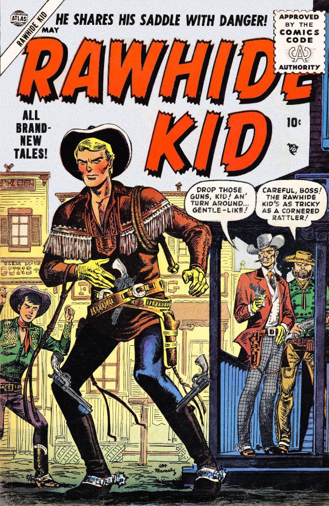 Couverture de Rawhide Kid Vol.1 (Atlas/Marvel - 1955) -2- (sans titre)