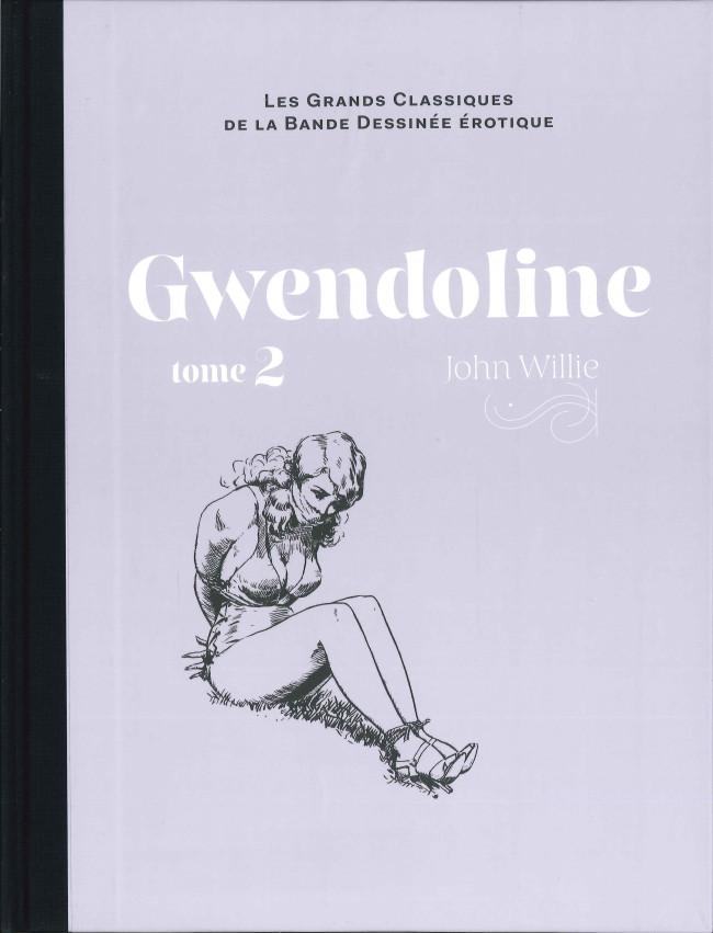 Couverture de Les grands Classiques de la Bande Dessinée érotique - La Collection -9594- Gwendoline - Tome 2