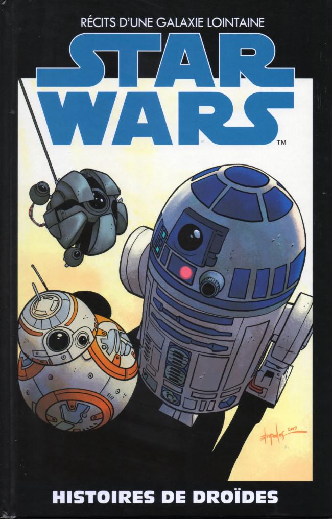 Couverture de Star Wars - Récits d'une galaxie lointaine -24- Histoires de Droïdes