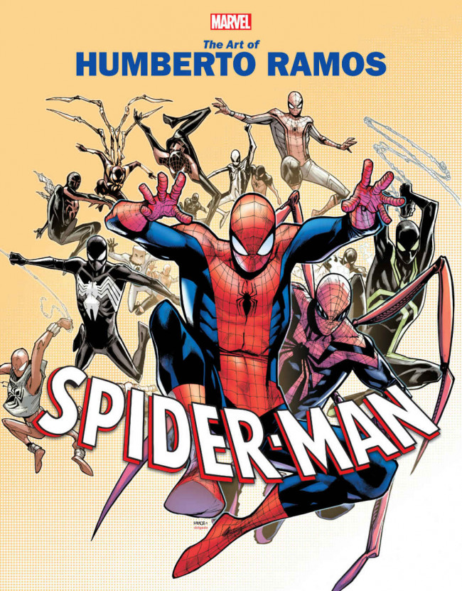 Couverture de Marvel Monograph -1- The Art Of Humberto Ramos - Spider-Man