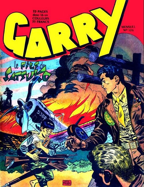 Couverture de Garry (sergent) (Imperia) (1re série grand format - 1 à 189) -106- Evadé de l'enfer