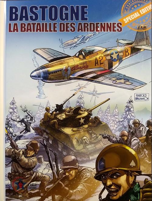 Couverture de La bataille des Ardennes - Nuts! -INT- Bastogne la bataille des Ardennes