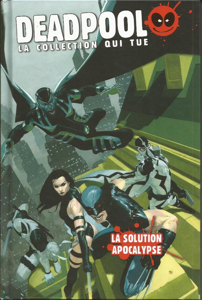 Couverture de Deadpool - La collection qui tue (Hachette) -1950- La solution Apocalypse