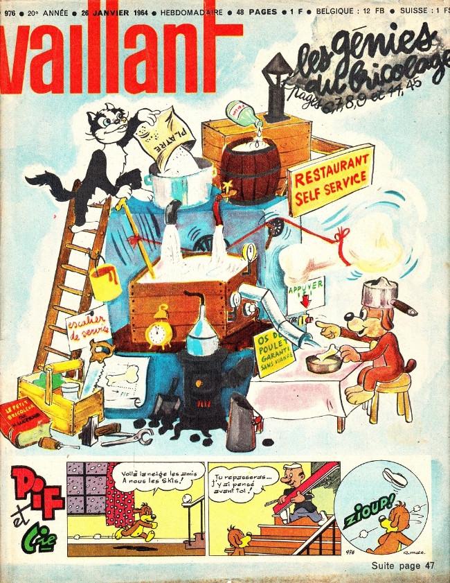 Couverture de Vaillant (le journal le plus captivant) -976- Vaillant