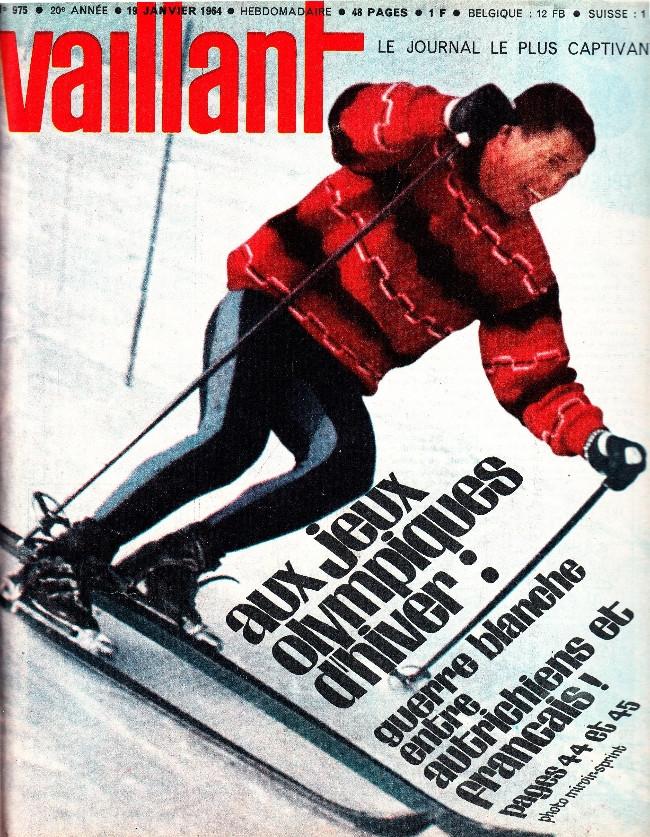 Couverture de Vaillant (le journal le plus captivant) -975- Vaillant