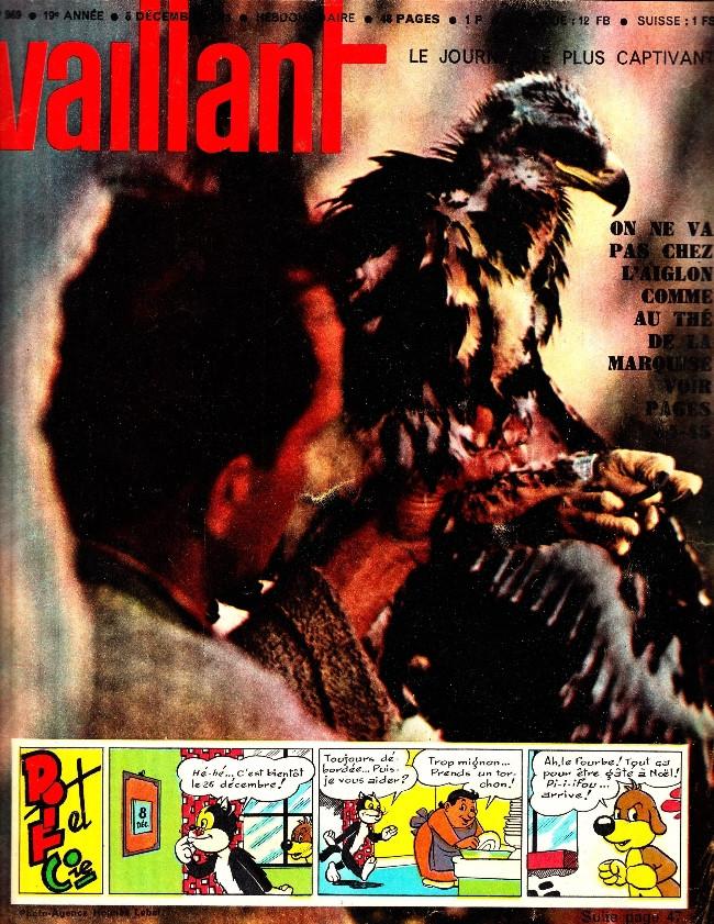 Couverture de Vaillant (le journal le plus captivant) -969- Vaillant