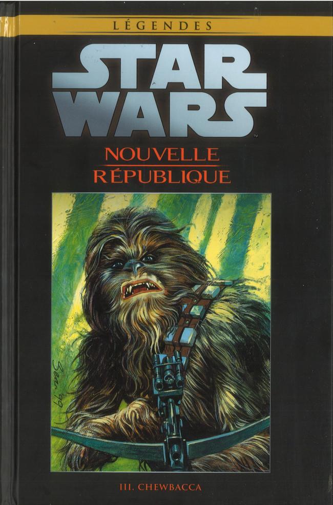 Couverture de Star Wars - Légendes - La Collection (Hachette) -10781- Nouvelle République - III. Chewbacca