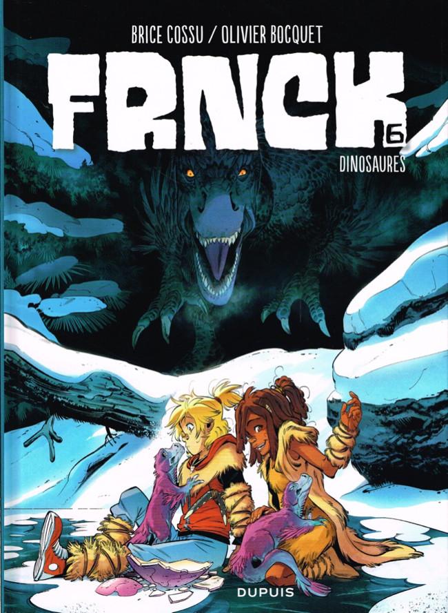 Couverture de FRNCK -6- Dinosaures