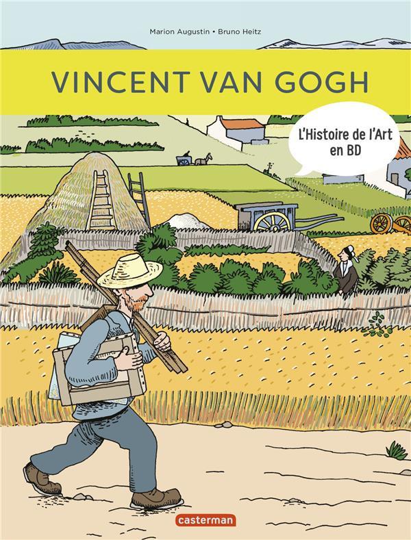 Couverture de L'histoire de l'art en BD -5- Vincent Van Gogh