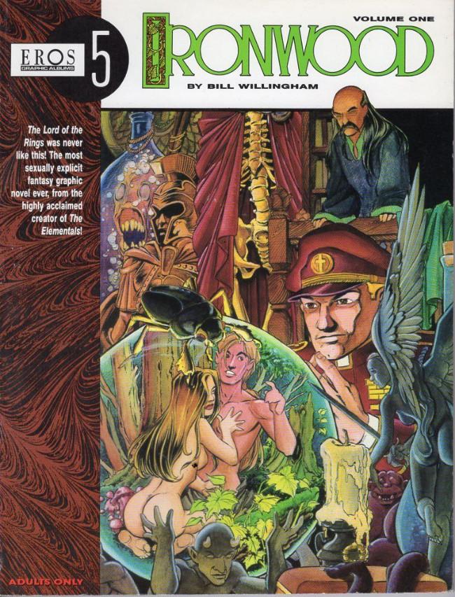Couverture de Ironwood (1991) -1- Ironwood volume 1