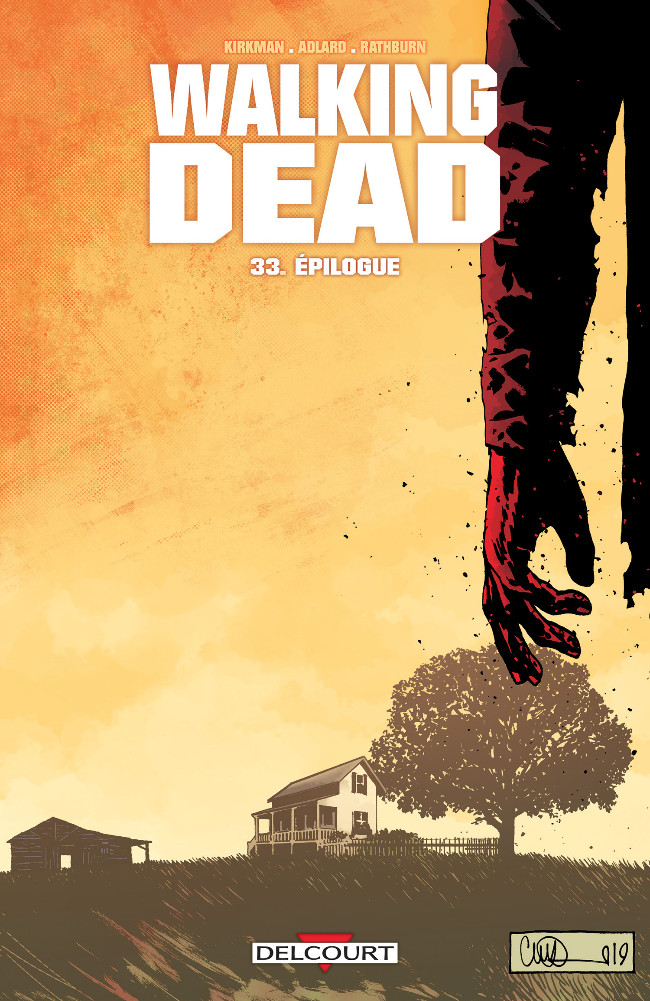 Couverture de Walking Dead -33- Épilogue