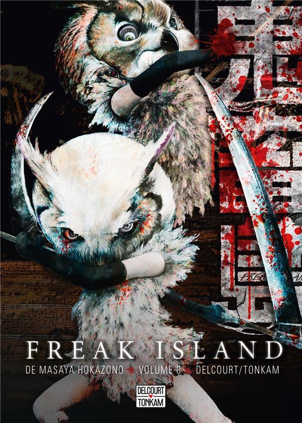 Couverture de Freak Island -8- Tome 8