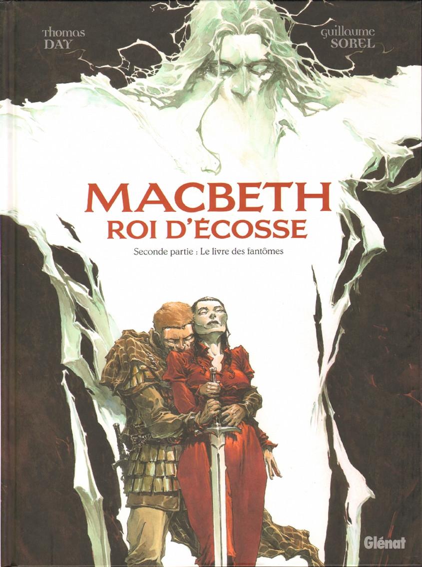 Couverture de Macbeth Roi d'Écosse -2- Le livre des fantômes