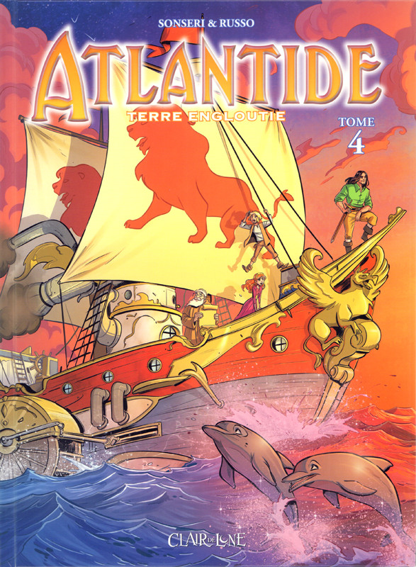 Couverture de Atlantide - Terre engloutie -4- Tome 4
