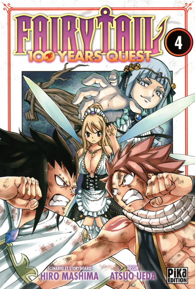 Couverture de Fairy tail 100 years quest -4- Tome 4