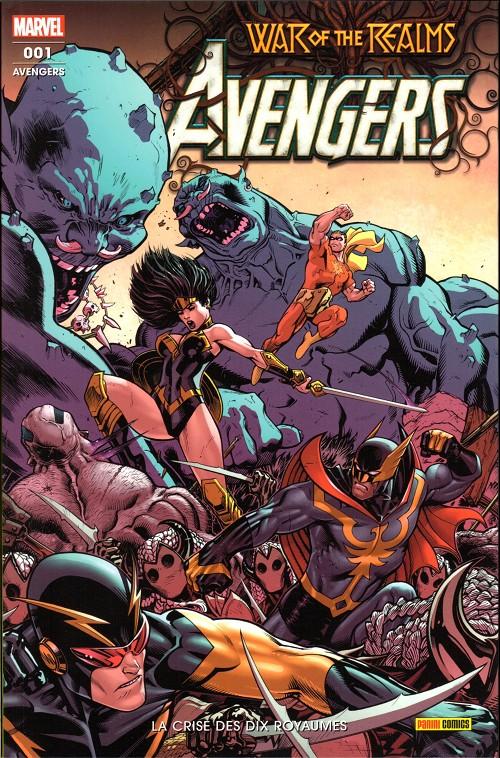 Couverture de Avengers (Marvel France - 2020) -1- La crise des dix royaumes