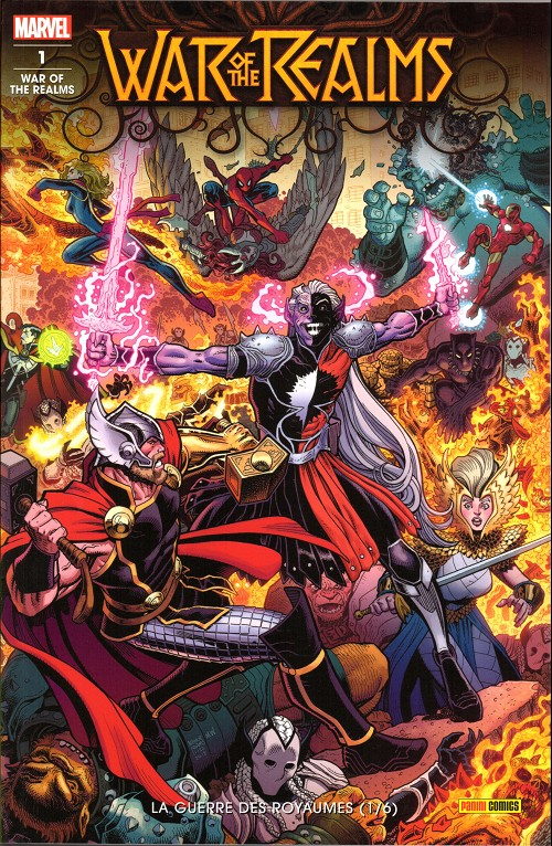 Couverture de War of the Realms -1- La Guerre des Royaumes (1/6)