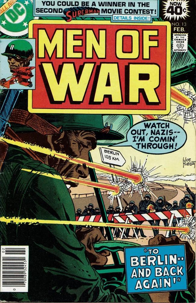 Couverture de Men of war Vol.1 (DC comics - 1977) -13- To Berlin-- And Back Again!